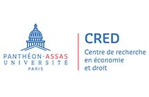 Logo du CRED partenaire de l'ED 455