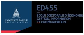 Logo ED 455 EGIC