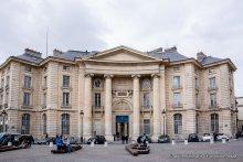 Vue de l'université Paris 2 Panthéon-Assas depuis le Panthéon